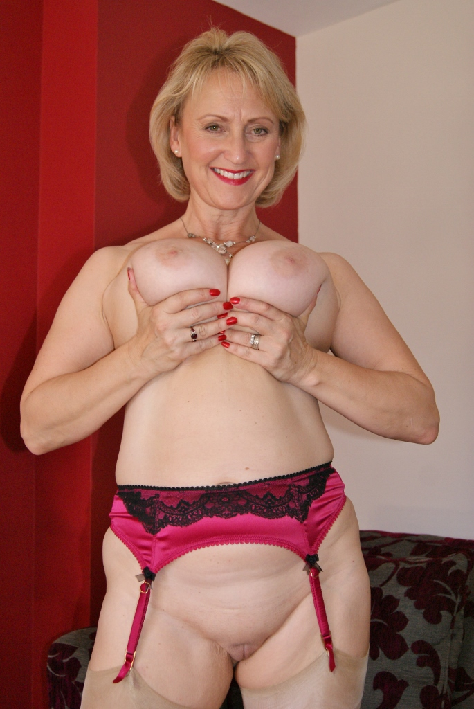 Mature british striptease