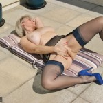 Masturbating in the sun